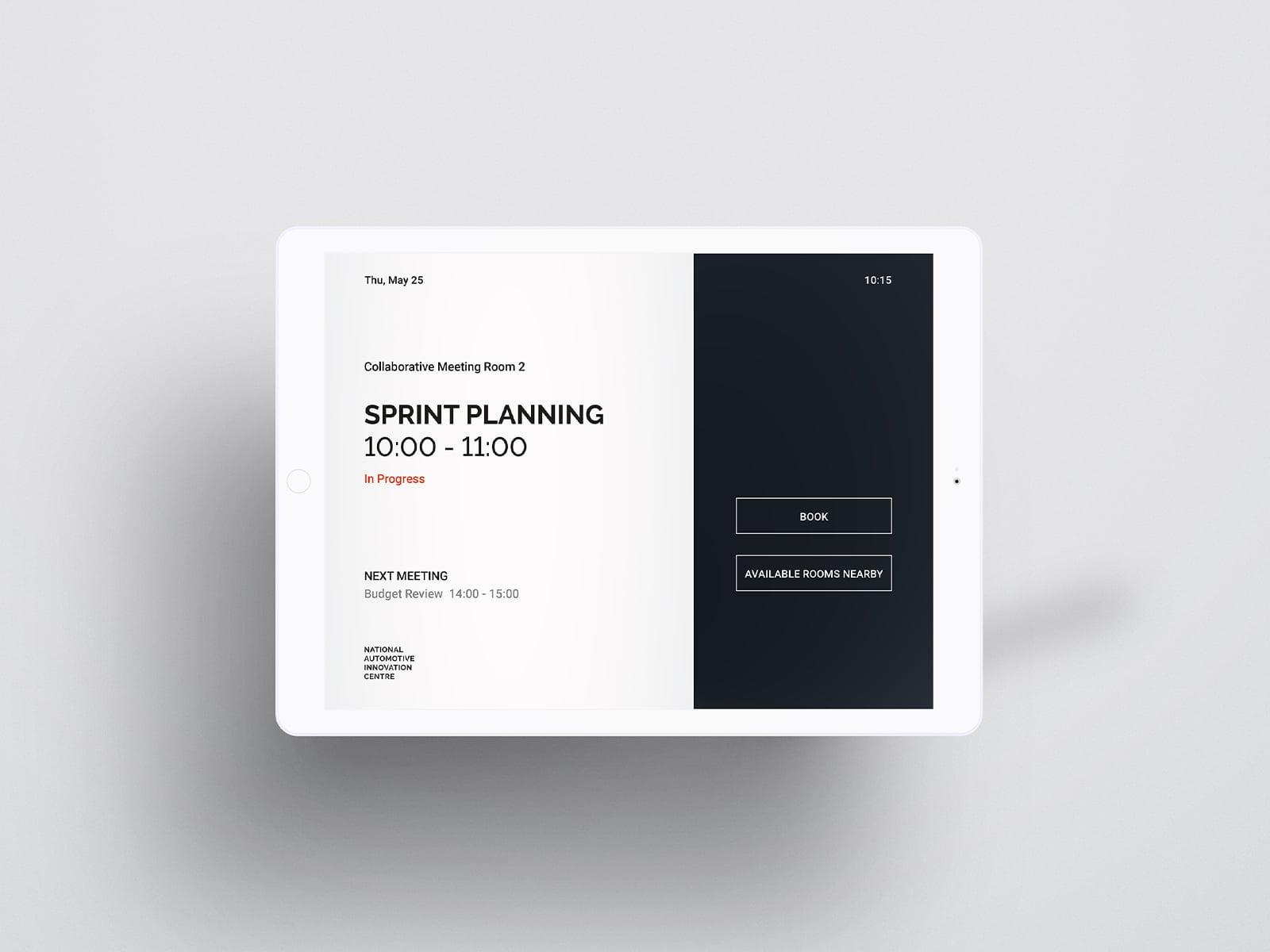 digital meeting room booking