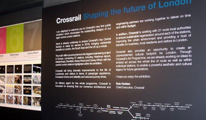 NLA Crossrail Art Programme