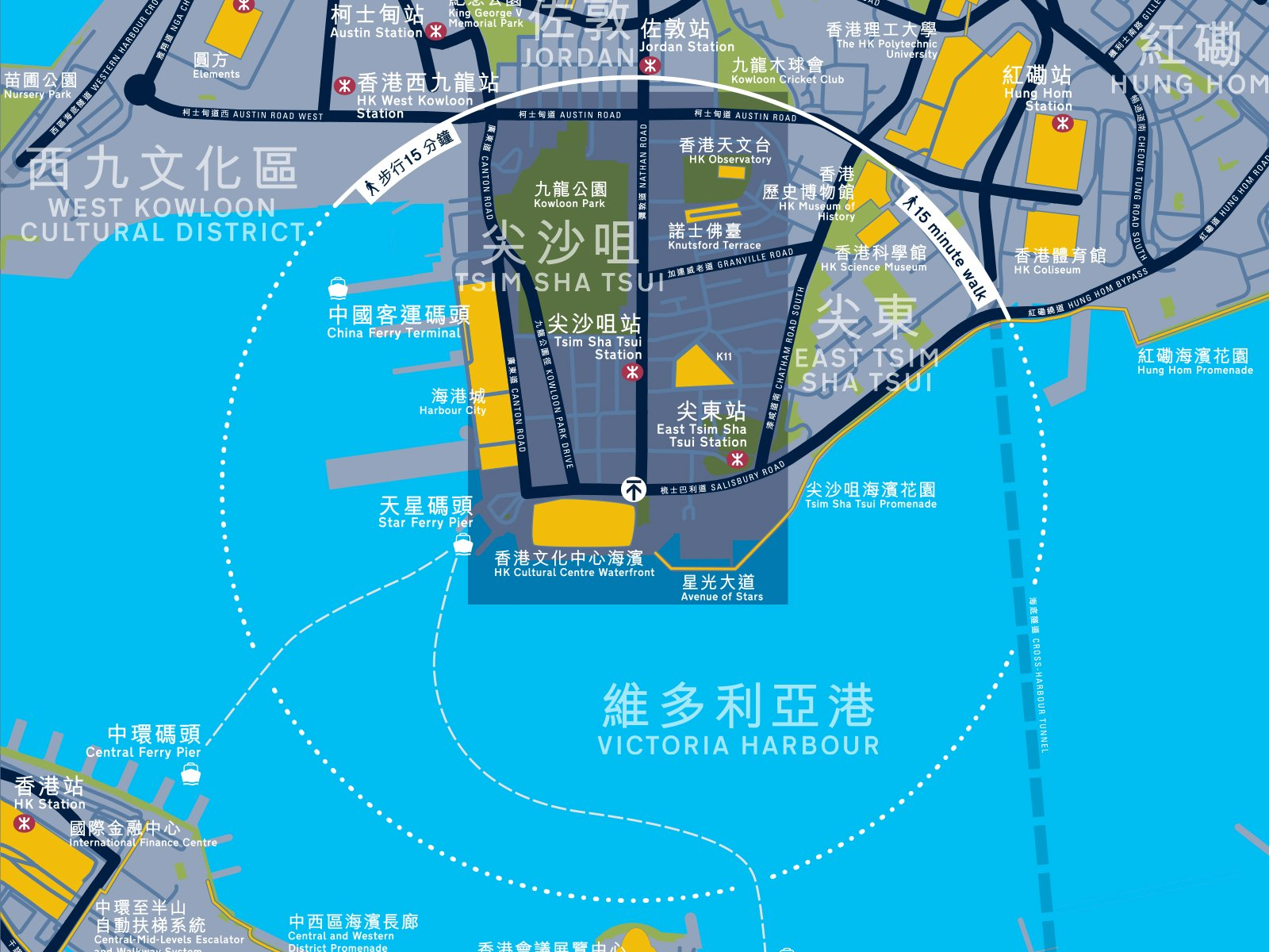 Hong Kong mapping detail