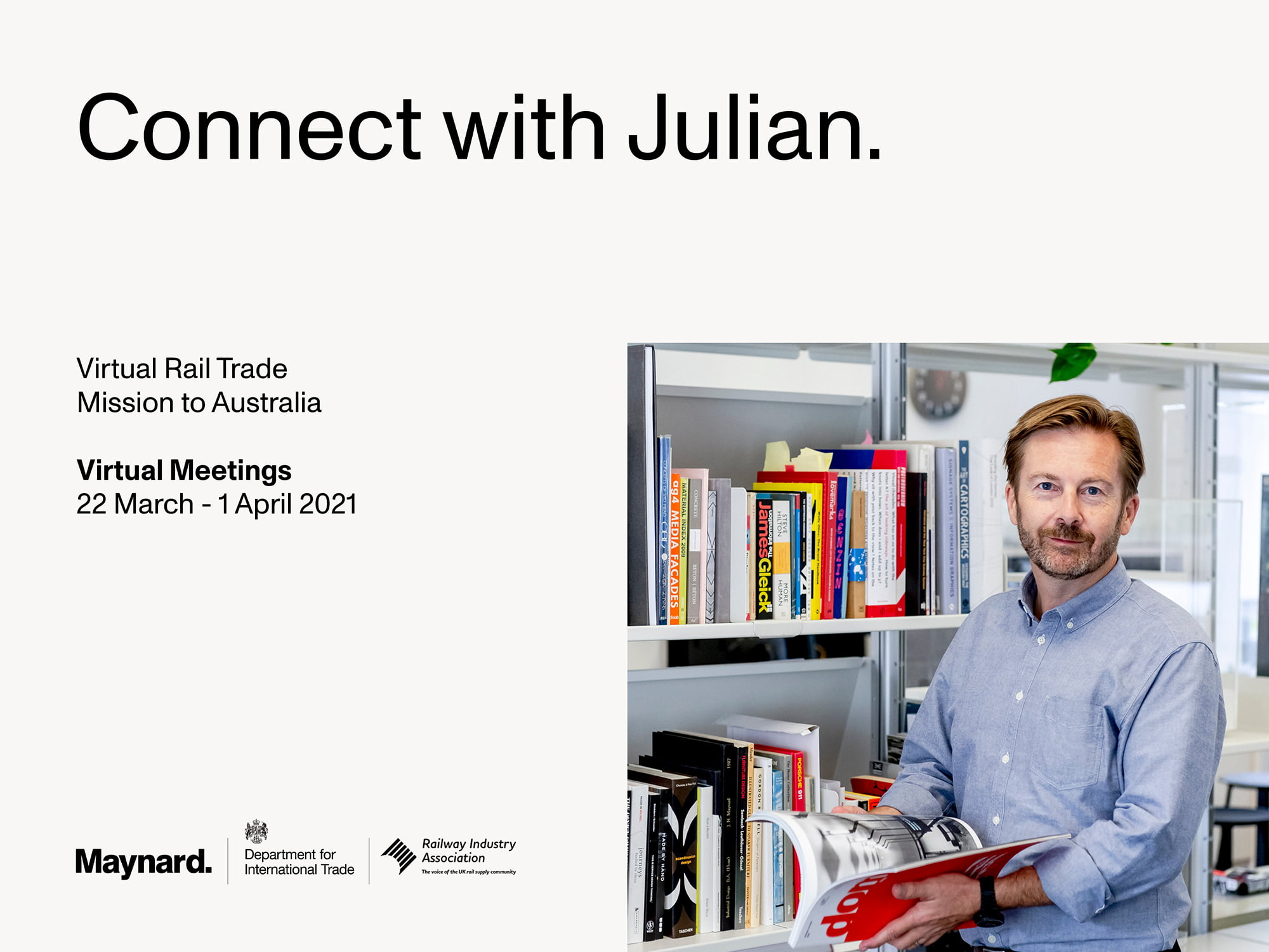 Connect with Julian