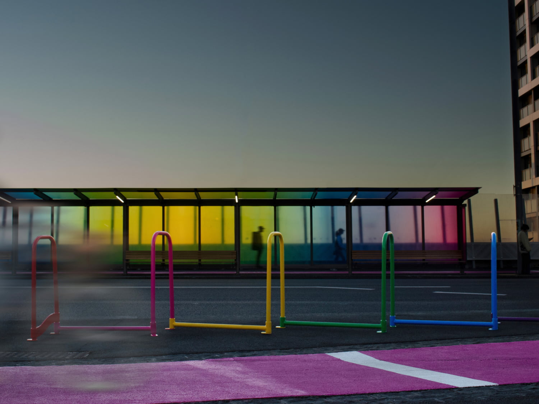 Rainbow Ripple night time